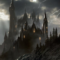transylvania castle by darekzabrocki
