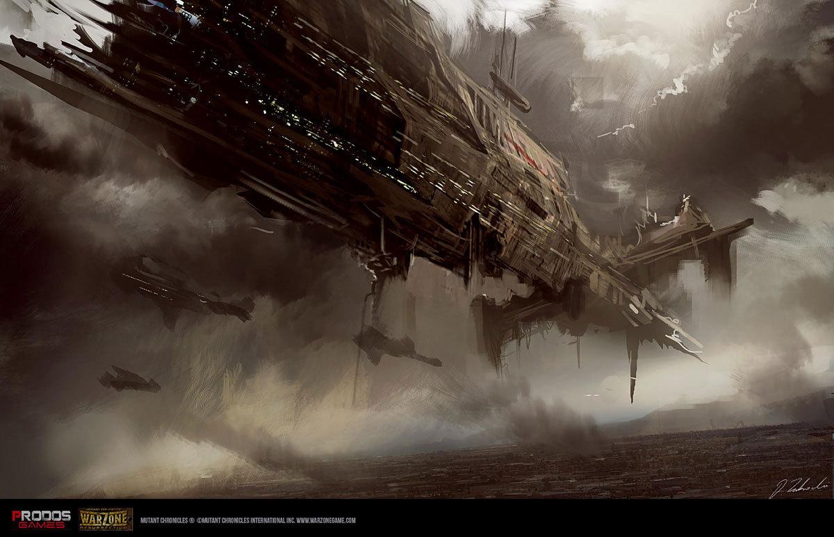 warzone ships concept by darekzabrocki