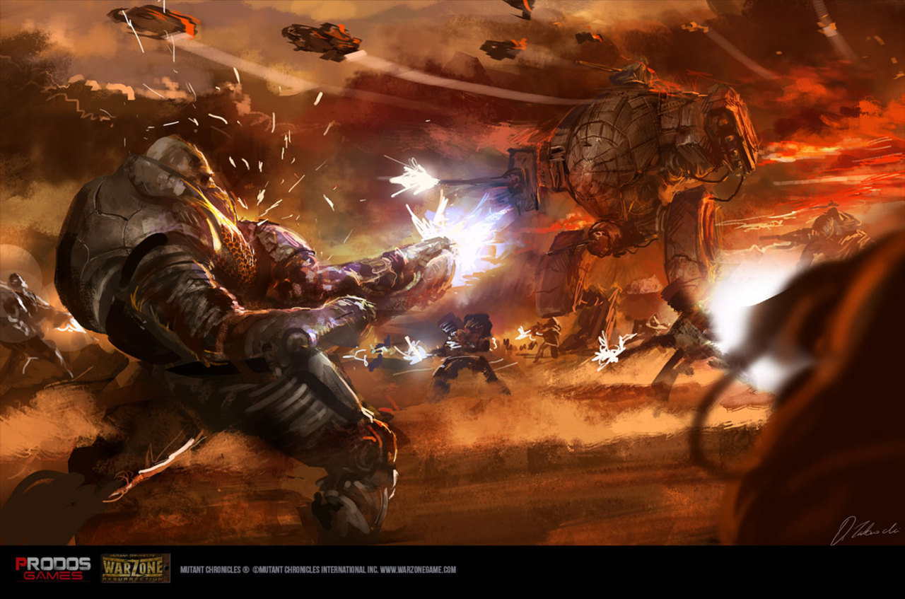mars skirmish by darekzabrocki