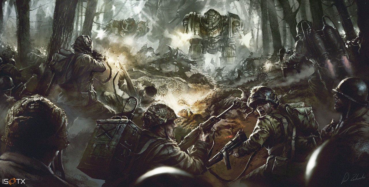 march of war by darekzabrocki