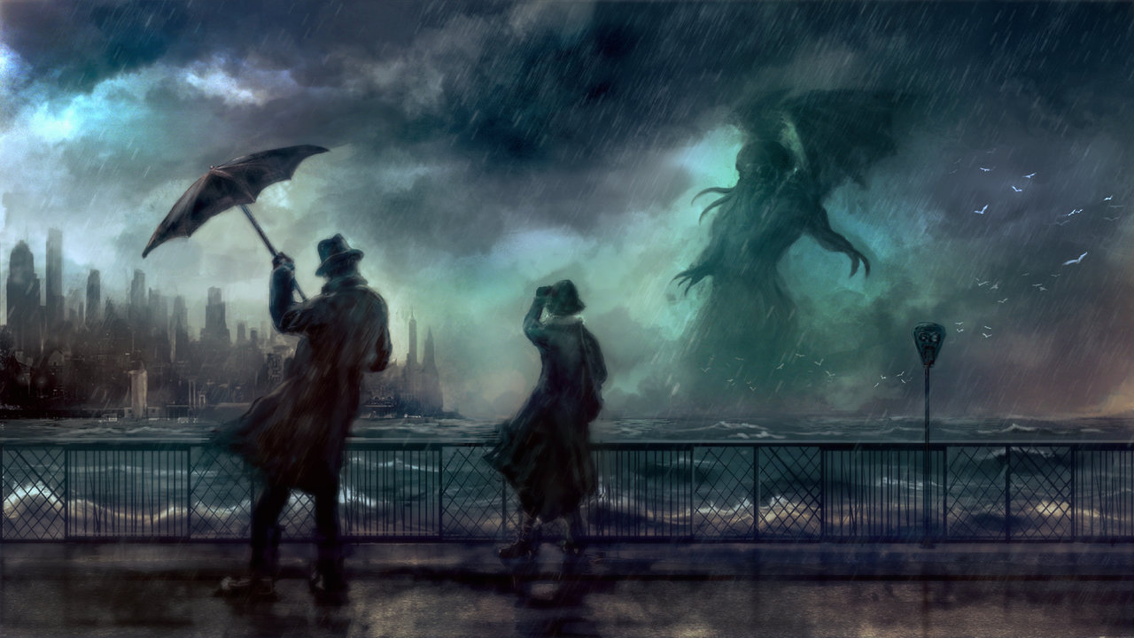 cthulhu rises by silberius