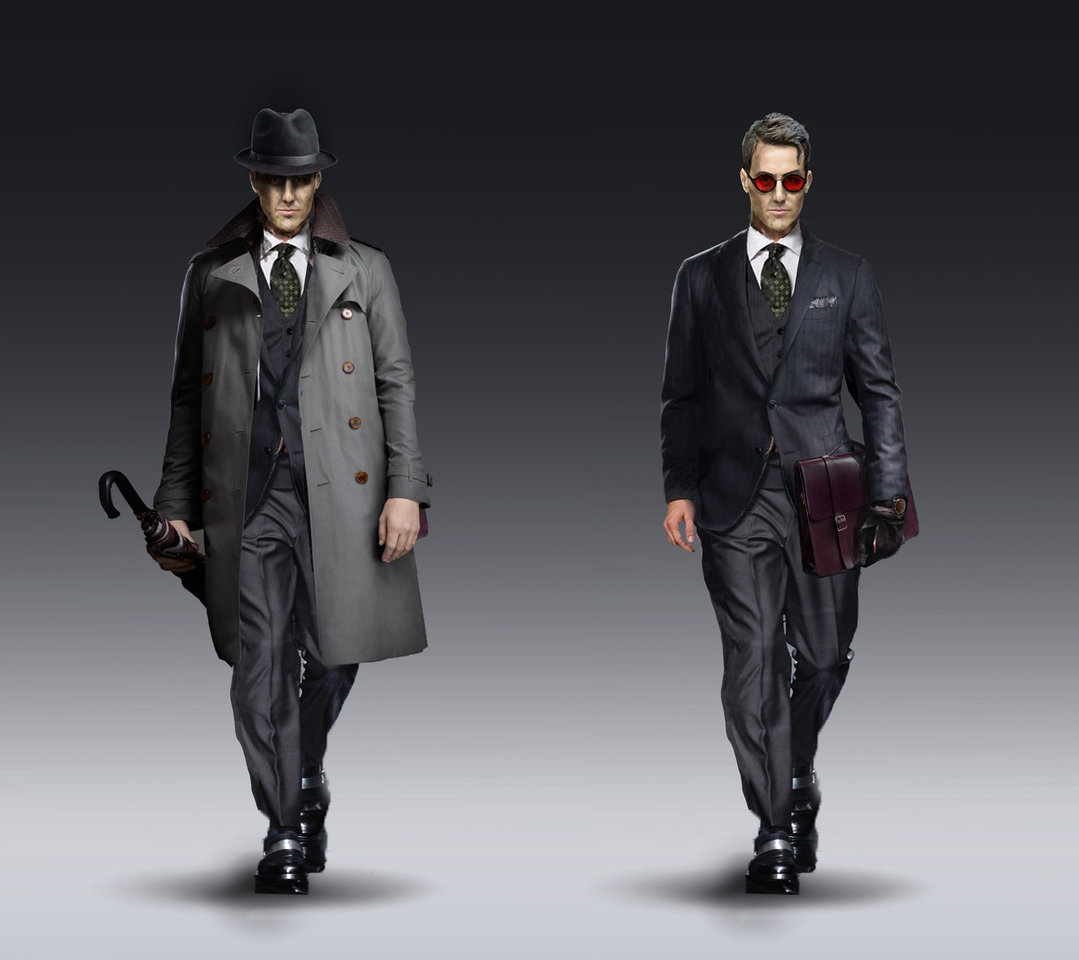 detective - character design by silberius