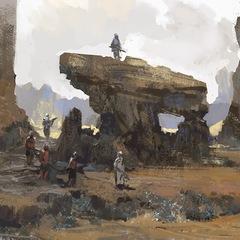 desert treck by arnaud