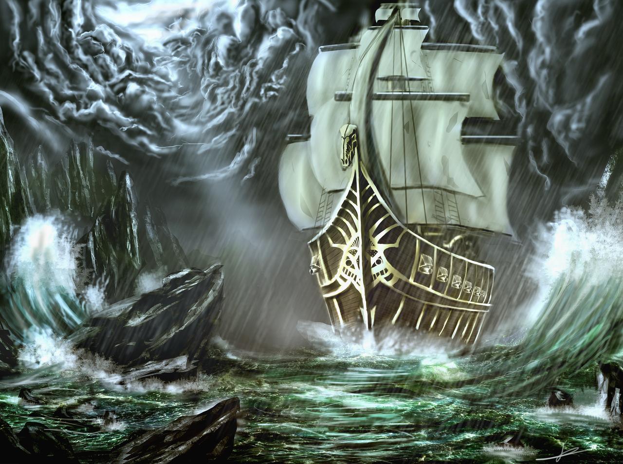 boat by jhonnyvdb