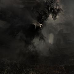 smokey monster by arnaud