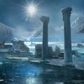 ice pillars by arnaud