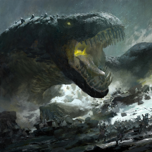 Guild Wars 2 Tequatl by ruan_jia