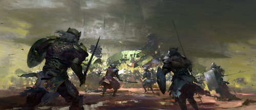 Display jumbo guild wars 2 battle for lions arch