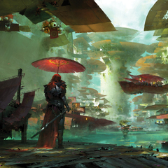 guild wars 2 environment by ruan_jia