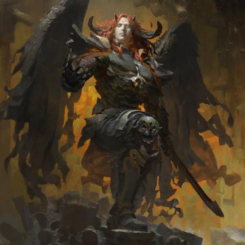 Overlord   Primeval Dark Demogorgon by ruan_jia
