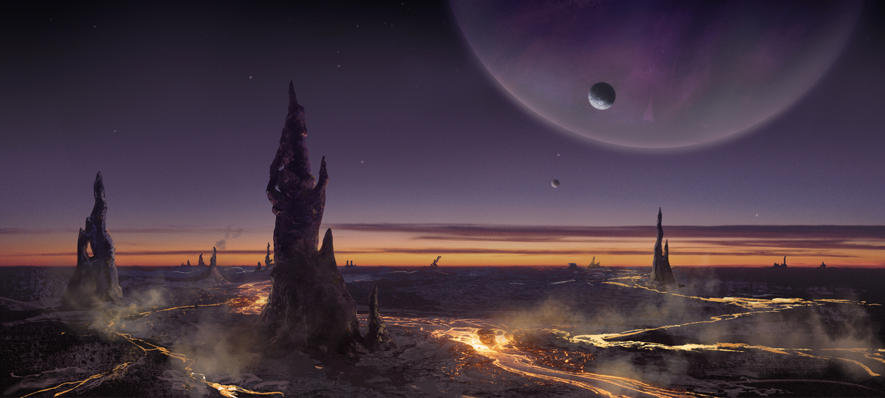 exoplanet by silberius