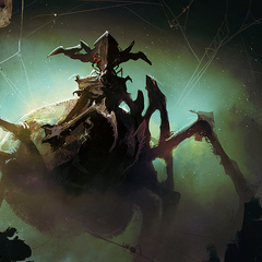 emperor of the spiders by sebastien_brunet
