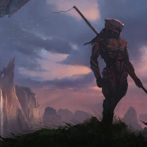 Fanatsy Warrior by tylerthull