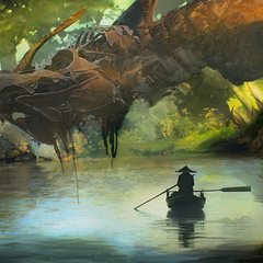 river dragon by efflam
