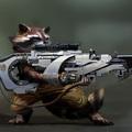 guardians of the galaxy - badoon weapon by maciej_kuciara