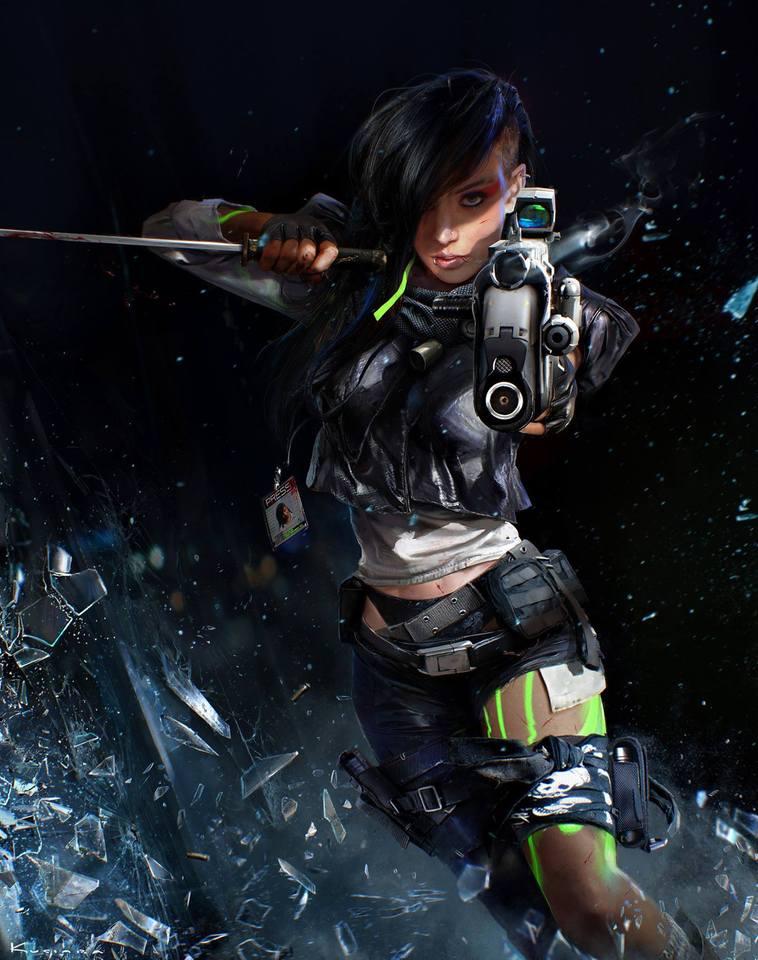 showtime - original cyberpunk series 11 by maciej_kuciara