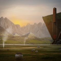 alien landscape by robinflorie