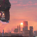 synth wave city by olivier_p.g