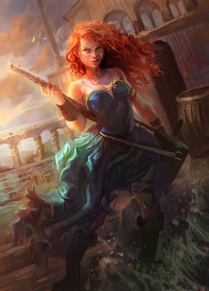 pirate merida by mike.azevedo