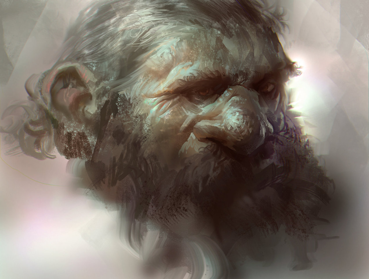 dwarf head by mike.azevedo