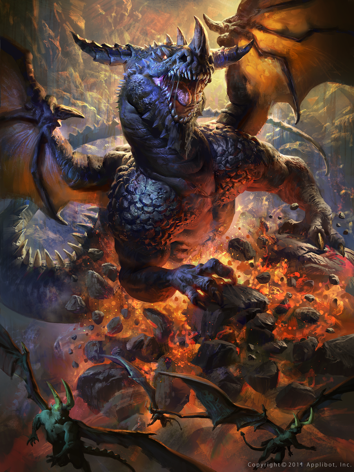 sivan the devil eating dragon - advanced by mike.azevedo