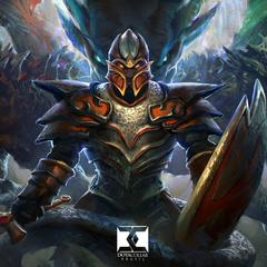 dragon knight - dota 2 by mike.azevedo