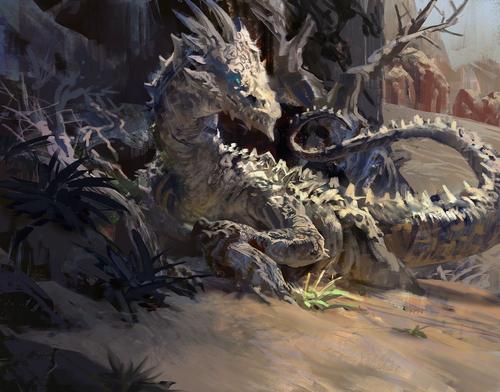 Display jumbo desert dragon by mikeazevedo d7wltc8