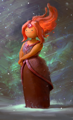 Display jumbo flame princess by mikeazevedo d7wuypc