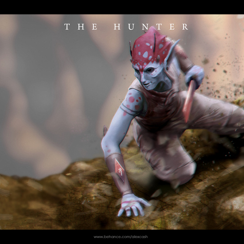 The Hunter by alexcash1