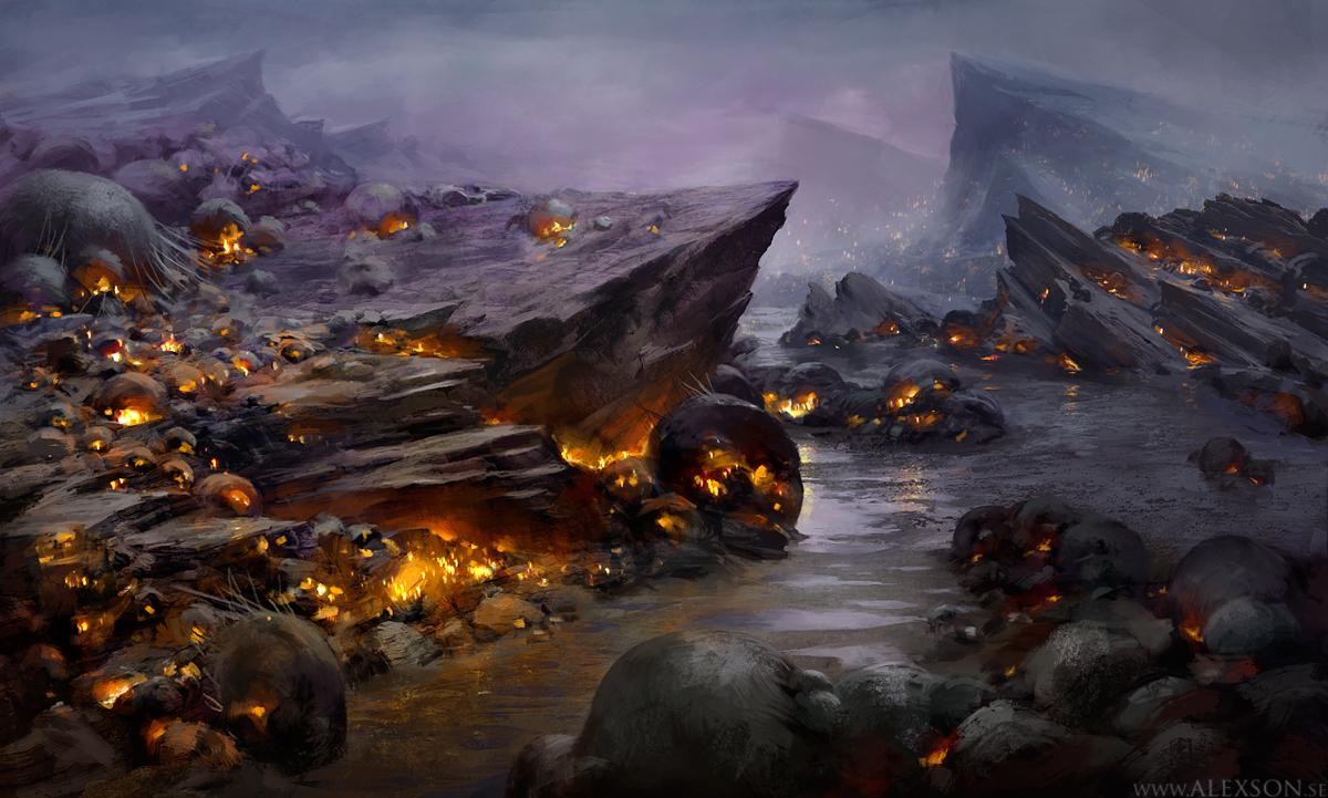 alien world 422 by alexson