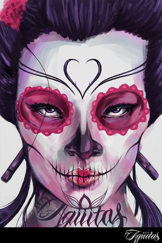 Display jumbo geisha