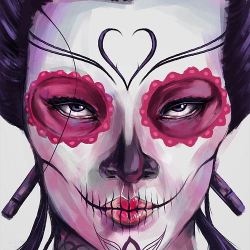 Geisha Catrina by chrisflores