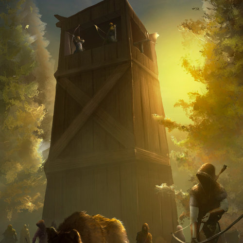 Archers Tower by tiagosilverio