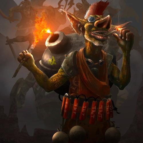 Norths Kabum Goblin by tiagosilverio