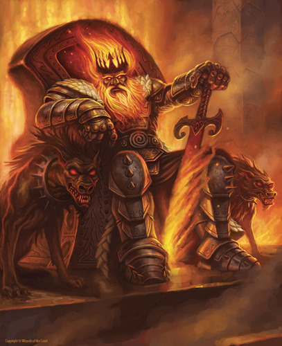 Display jumbo fire giant king