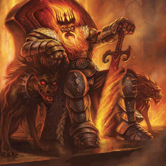 fire giant king by jnelson