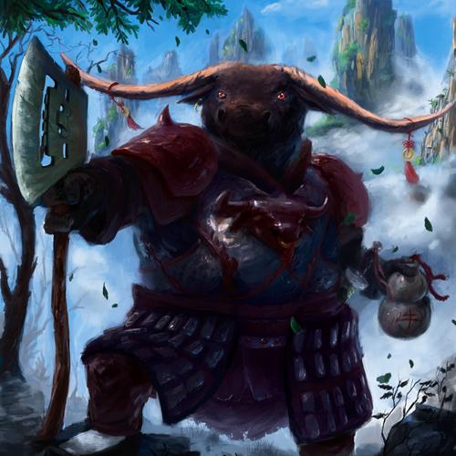 Ox Warrior by gregogr