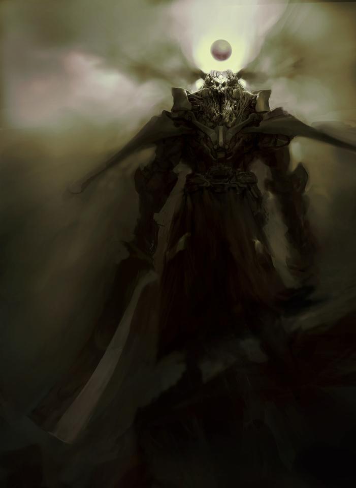 speed paint - demon by afigini