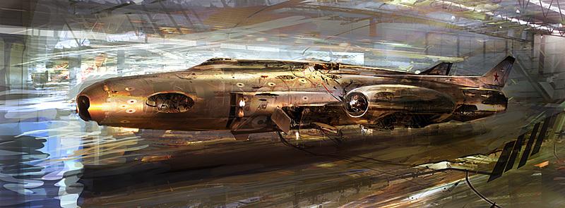 speed paint - jet fighter by afigini