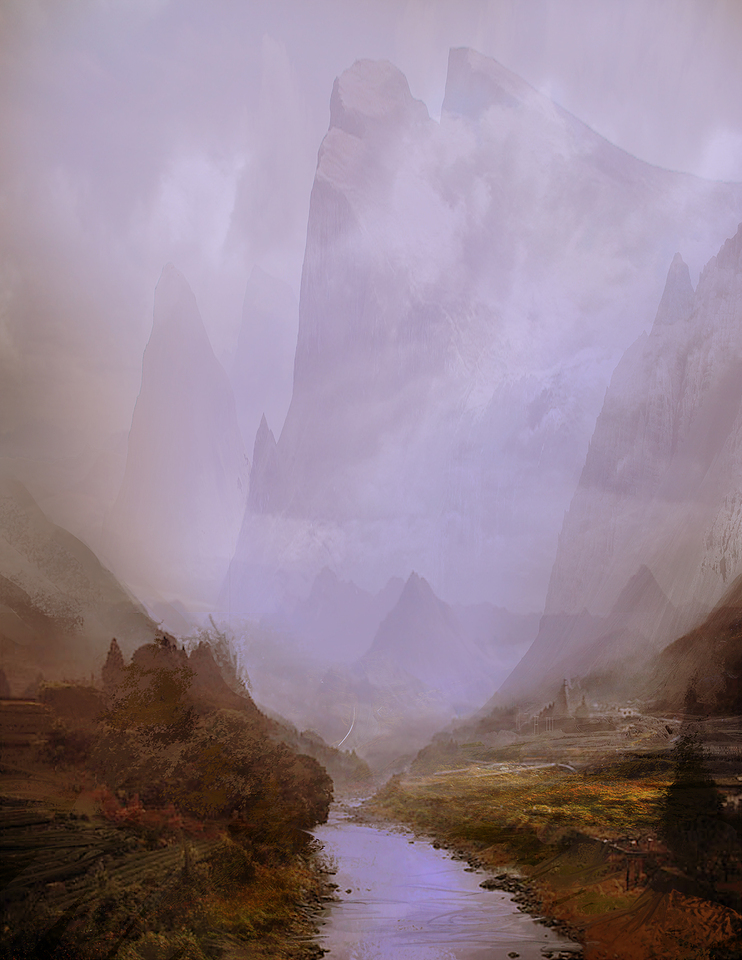 speed paint - valley by afigini