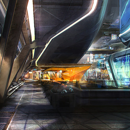 Mass Effect 3   Citadel Shops by afigini