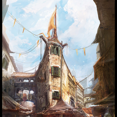 old city by afigini