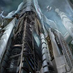 cityscape by dmitryvishnevsky