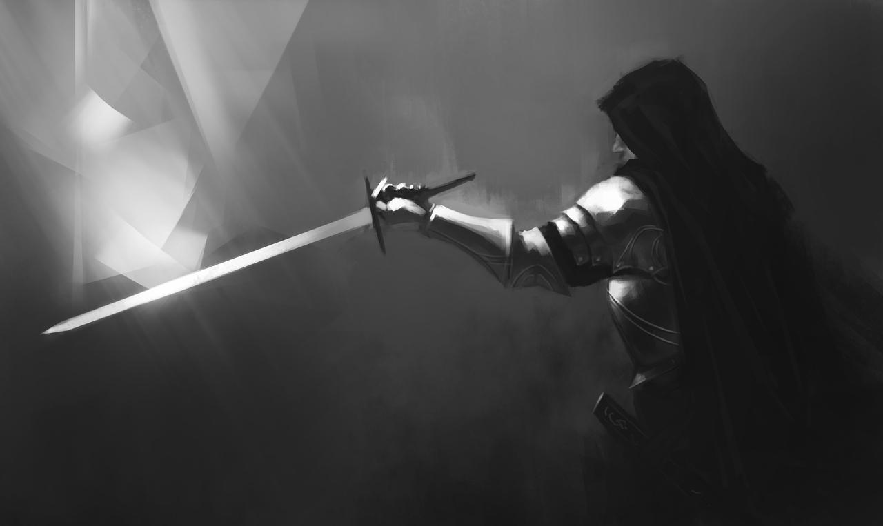 swordsman by stefanoscuccimarra