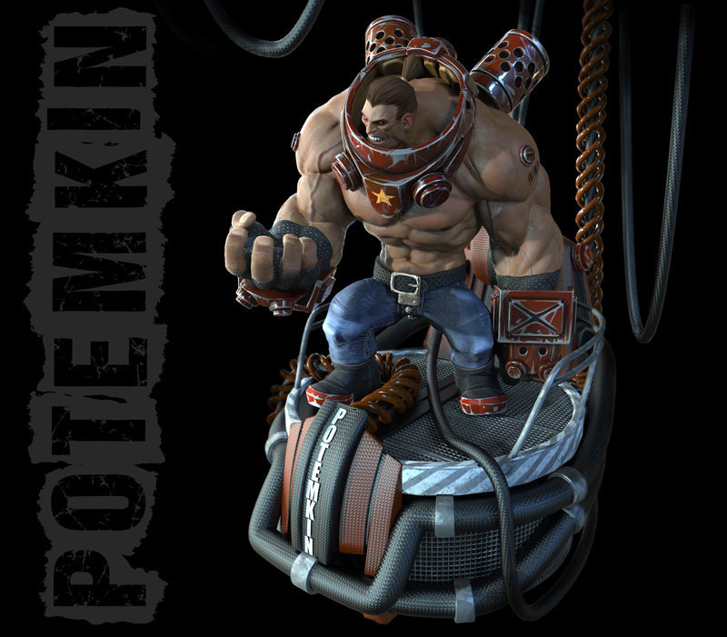 fan art potemkin by samuelcompain