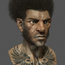 afro samourai by samuelcompain