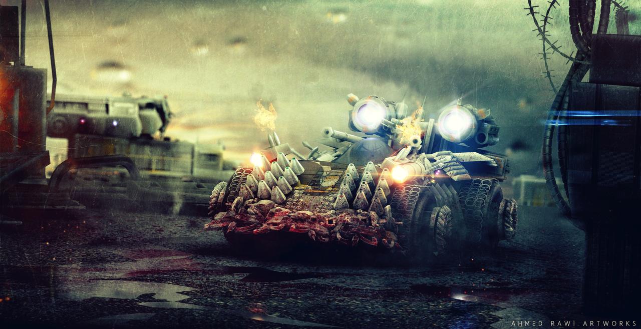 anti zombie vehicle by rawi