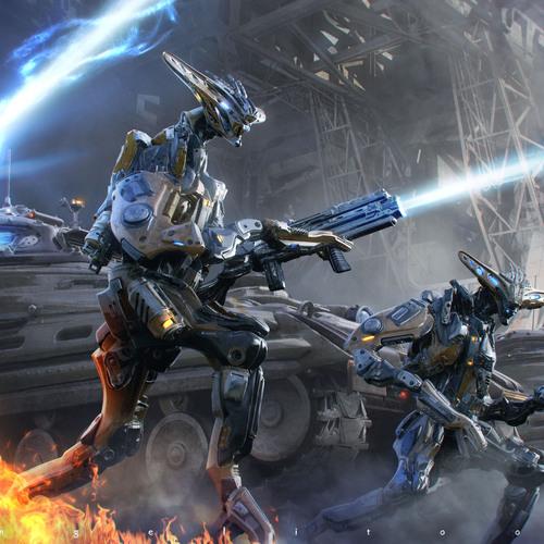 Mercenary Antarians by angelitoon