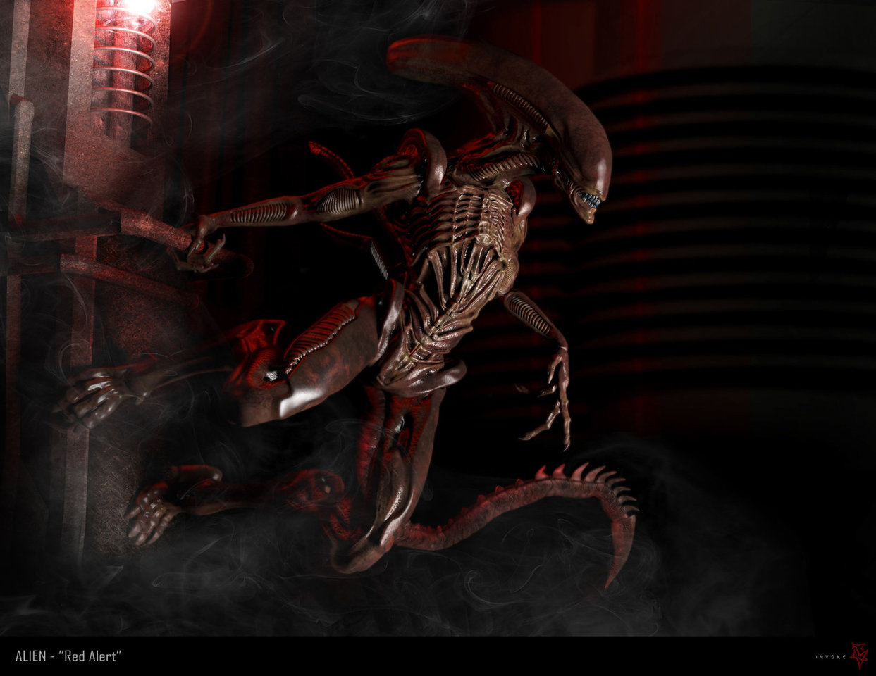 alien by calebnefzen