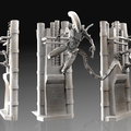 alien - my xeno lurker sculpt - full by calebnefzen